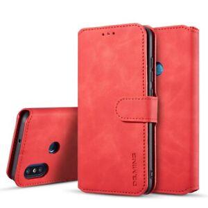 Luxury Flip Case For Xiaomi Mi 8 A2 Lite Pocophone F1 LCard Slots Leather Cover