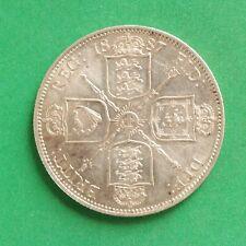 1887 Queen Victoria Silver Florin Two Shillings SNo50695