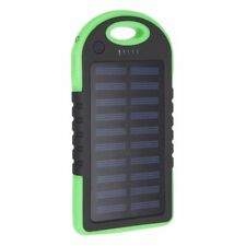 4000mAh Solar Waterproof Power Bank External Mobile Phone Fast Battery Charger