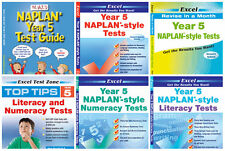 YEAR 5 NAPLAN TEST PACK BUNDLE - Australian Curriculum ( 6 BOOKS)