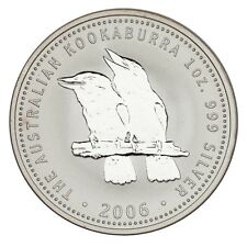 2006 Australia $1 Silver 1oz Kookaburra (BU Condition)