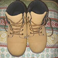 Brahama Boys Brown Boots Size 4