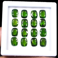 16 Pcs Natural Chrome Diopside 8mm/6mm Vivid Green Premium Quality Gemstones Lot