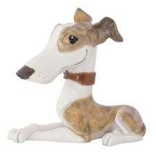 More details for little paws twiggy the whippet dog figurine new in box