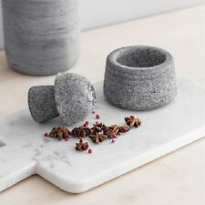 Grey Granite Spice Crusher by Garden Trading Kitchen Chef Cook Essential Gift