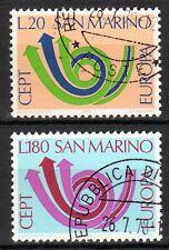 San Marino - 1973 Europa Cept -  Mi. 1029-30 VFU