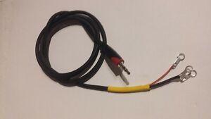 Iambic Morse Key connection lead 3.5mm  Bencher, Hi-Mound, Vibroplex etc