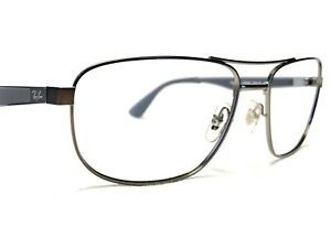 Ray Ban RB3528 029/9A Men's Pewter & Gray Rx Aviator Sunglasses Frames 58/17~145