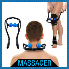 Self Massage Tool Massager for Head Neck Legs Pain Relief Acupressure Ball New