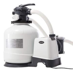 Pompa filtro a sabbia 26652 Intex 12.000 l/h per piscina fuori terra 28652 Rotex