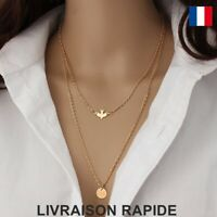 Collier Pendentif Oiseau Femme Anniversaire Cadeau Bijoux Original Mode