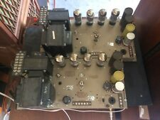 Two WEBSTER ELECTRIC Tube Amplifiers model WSA 230 , 4 x 8417 Sylvania Tube each