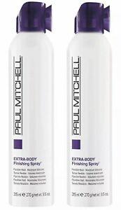 Paul Mitchell Extra Body Finishing Spray 9.5 oz **2-Pack** NEW