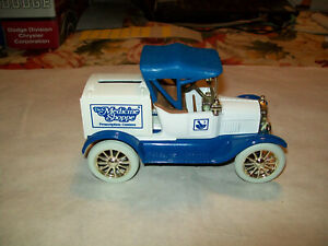 """Ertl #9312UP 1:25 """"The Medicine Shoppe #2 Blue Top"""" 1918 Ford Runabout Car Bank"""