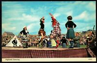 Scottish Highland Dancing unused Vintage Postcard pc85b