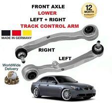 Per BMW 5 E60 520 525 530 535 Anteriore Inferiore Sinistro + Destro Braccio di