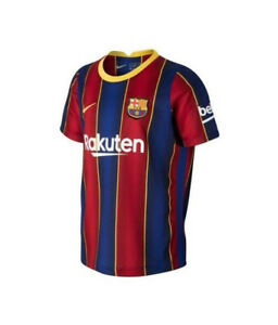Nike Kids Barcelona FC CD4590-456 Activewear Top Blue/Red XS