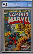 CAPTAIN MARVEL #26 CGC 9.2 1ST THANOS COVER THANOS SAGA BEGINS