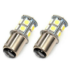 2X 12v BA15S R5W 1157 5050 8 SMD LED Car Tail Turn Signal Light Bulb White Lamp