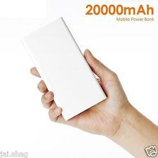 Smart 20000mAh Power Bank External Battery Portable USB Emergency Charger