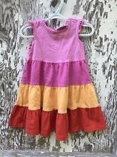 Hanna Andersson Size 80 / 18-24M Girls Color Block Spring Dress Twirl