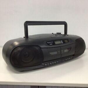 Vintage Panasonic XBS Portable Stereo Digital CD System RX-DT401 #903