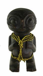 Statue Pygmée africaine 18 cm Fetiche ancetre Cameroun Art coutumier 383