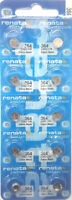 364 RENATA WATCH SR621SW BATTERY (10 piece) FREE SHIPPING Authorized Seller