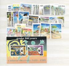 1999 MNH Aruba, year complete
