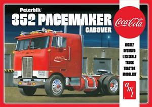 Amt 1/25 Peterbilt 352 Pacemaker Cabover (Coke) Truck Plastic Kit