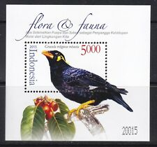 [SS] Indonesia 2015 Flora & Fauna Bird M/S