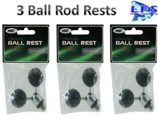 3 Stainless Steel Fishing Ball Butt Rod Bankstick Rests NGT Carp Fishing Tackle