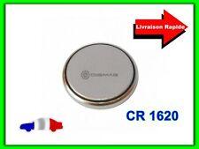 Pile CR1620 CR 1620 3V Lithium pour Coque Clé Plip Télécommande Electronique
