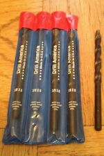 3/8X6 Drill Bits 4 Pcs