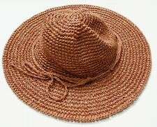 UNIQLO WOMEN Paper Crochet Hat Orange (076382)
