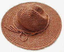 UNIQLO WOMEN Paper Crochet Hat Orange (076382)