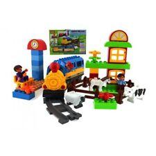 Happy Village's Train Station Blocks Set (61 pcs)