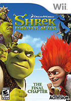 Shrek Forever After: The Final Chapter (Nintendo Wii, 2010) Sealed Torn Plastic