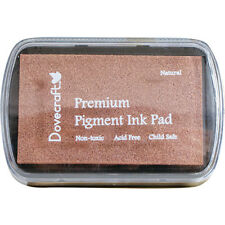DOVECRAFT Premium Pigment Ink Pad for stamping - Natural