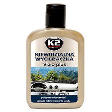 K2 Vizio Plus Regenabweiser 200ml Scheibenversiegelung Wasserabweiser Nanoeffekt