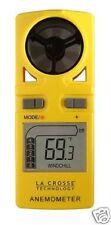 BULK WHOLESALE PACK x10: EA-3010 La Crosse Anemometer (Wind Meter) & Thermometer