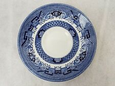 """Churchill China Staffordshire England Blue Willow Cup Saucer 5 1/2"""" Sold Each"""