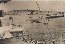 Malte UK Guerre WW2 Photo Presse Meurisse Paris Vintage Argentique