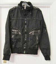 GX3 Men's Black Bomber Jacket