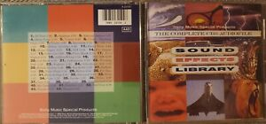 Sound Effects Library CD 1992 Complete CBS Audiofile FAST SHIP FROM USA