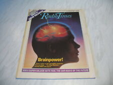 Radio Times magazine # 1988 September 10-16 BBC tv The Mind Machine cover