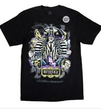Universal Halloween Horror Nights Beetlejuice Beetle Juice T-shirt Size XS - 3XL