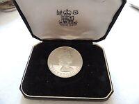1964 Bermuda One (1) Crown Silver Proof Coin In Original Display Box