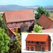 SH Busch 1507 Bauernhof: Scheune mit großem Stall Bausatz