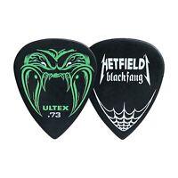 Guitar Pick - Dunlop Ultex - Hetfield - Black Fang - 1 x 0.73